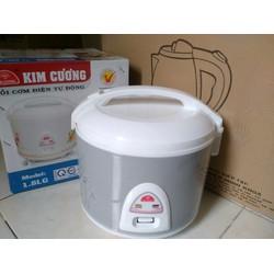 Nồi cơm điện Kim Cương 1.8 lít gài chống dính