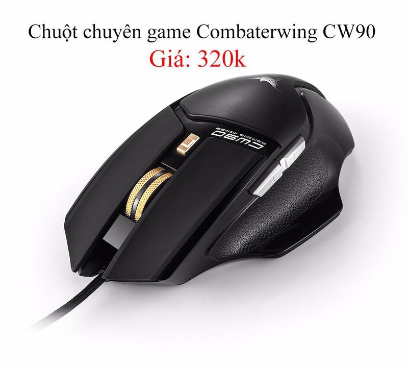 Chuột chuyên game Combaterwing CW90 1