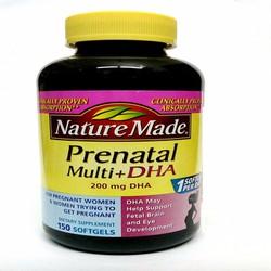 Vitamin tổng hợp cho bà bầu Nature Made Prenatal Multi DHA Vitamin