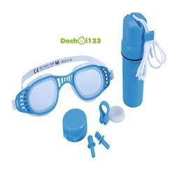 Bộ phụ kiện bơi: Kính , nút tai, kẹp mũi, hộp đựng