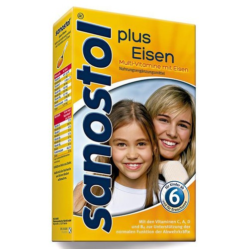 Vitamil tổng hợp Sanostol số 6 của Đức