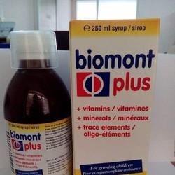 Siro ăn ngon, thuốc bổ cho trẻ biếng ăn Biomont miễn Ship từ 2 chai