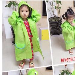 Áo mưa cho bé ngộ nghĩnh