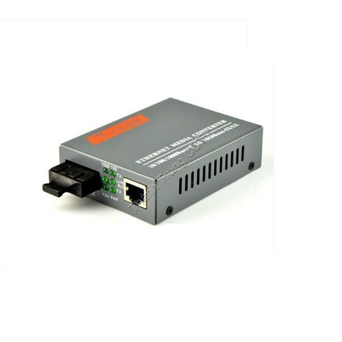 Converter single mode 2 cổng quang 1Gbps
