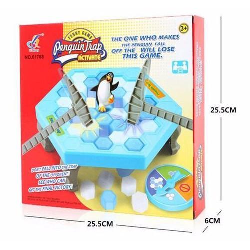 Bộ đồ chơi đập chim cánh cụt - đồ chơi cho bé - trò chơi phá băng