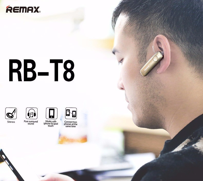 Tai Nghe Bluetooth V4.1 Remax RB-T8 1