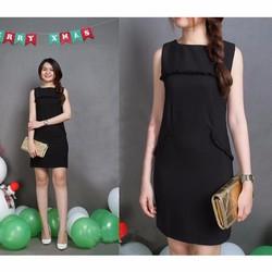 Váy Đầm Công Sở Sát Nách Dáng Suông Thời Trang  VAY 700011