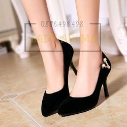 Giày cao gót quý phái Lady-CG600