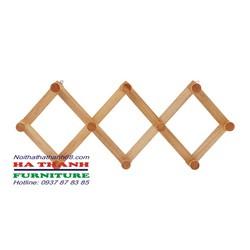 móc treo quần áo gỗ MT2