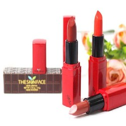 Son The Skin số 2 Face Luxury Bote Lipstick chính hãng