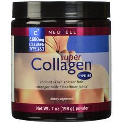 Collagen NeoCell type 1và3 +C hàm lượng 6.600mg dạng bột 198g của Mỹ