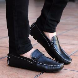 Giày lười nam thời trang, phong cách