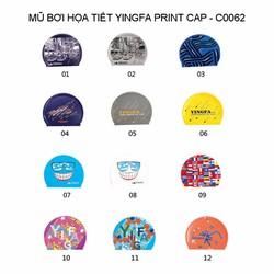 Mũ bơi YingFa PRINT CAP - C0062