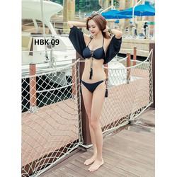 Bikini kèm áo choàng siêu đẹp - Hàng Nhập - mặc tôn dáng cho mùa hè