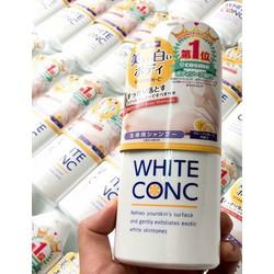 sữa tắm trắng white conc hàng nội địa 380ml