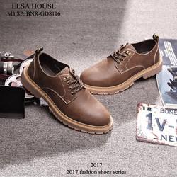 giày nam da thật - cá tính, năng động