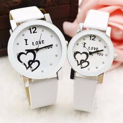 Đồng hồ đôi dây da thời trang Kasiqi SP945
