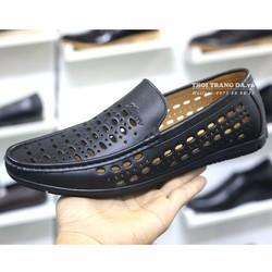 Giày da bò đục lỗ GL93 thoáng khí cung cấp bởi THỜI TRANG DA