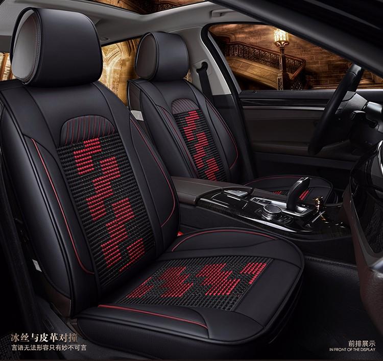 Bọc da ghế oto cao cấp, áo ghế xe oto 5