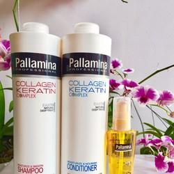 Bộ chăm sóc Pallamina Collagen Keratin 750ml