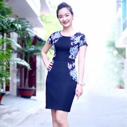 Đầm Hoa Mẫu Đơn Giả Áo