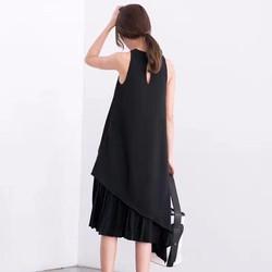 Váy Hàn chân xếp ly