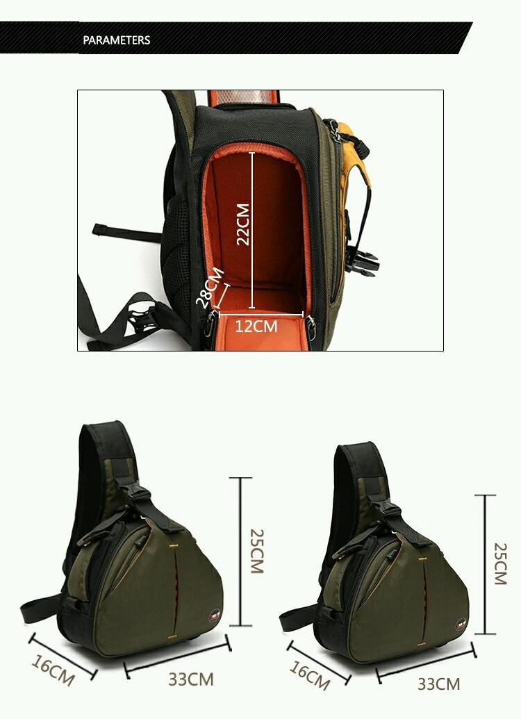 Túi máy ảnh mang chéo Cam01 11