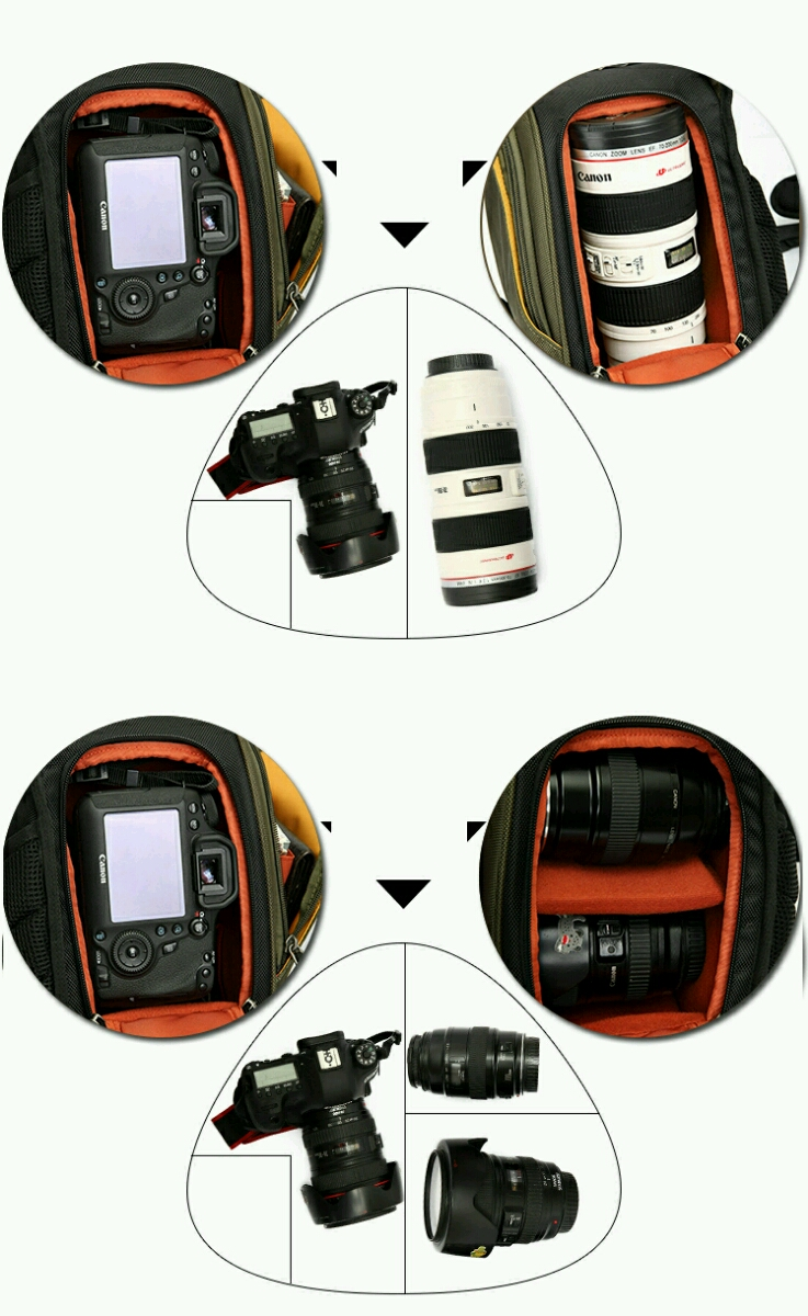 Túi máy ảnh mang chéo Cam01 9