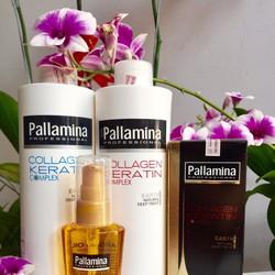 Bộ chăm sóc Pallamina Collagen Keratin 500ml