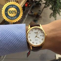 Đồng hồ nam chính hãng giá rẻ SKmei 1 lịch chống nước, chống xước