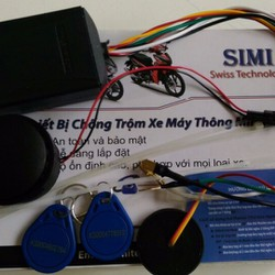 Thiết Bị Chống Trộm Xe Máy Thông Minh SIMI - 1 Đổi 1 Trong 1 Năm