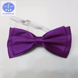 [Chuyên sỉ - lẻ] Nơ đeo cổ áo nam nữ Facioshop XE05 - bản 11cm