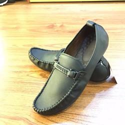 Giày Mọi Da bò Nam Siêu Nhẹ