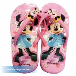 Dép kẹp cho bé Disney hình minnie hồng