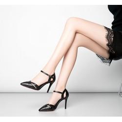 Giày sandal cao gót quai cách điệu