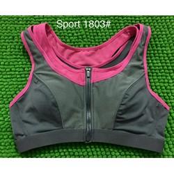 áo ngực thể thao dây kéo