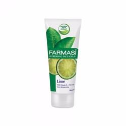 Gel Tẩy Tế Bào Chết Chiết Xuất Chanh  Farmasi Face Scrub Lime 100 ml