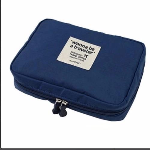 Túi đựng đồ mỹ phẩm đa năng Wanna Be - 4250659 , 5522526 , 15_5522526 , 75000 , Tui-dung-do-my-pham-da-nang-Wanna-Be-15_5522526 , sendo.vn , Túi đựng đồ mỹ phẩm đa năng Wanna Be