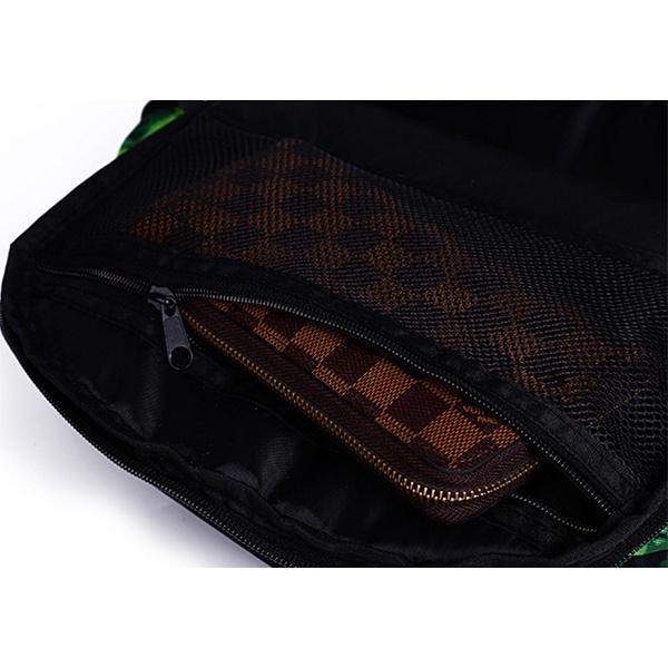 Ba lô vải dù mặt ninja 6