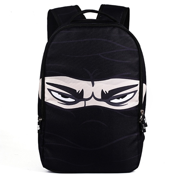 Ba lô vải dù mặt ninja 1