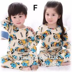 Bộ đồ ngủ cực yêu cho bé 1-8 tuổi