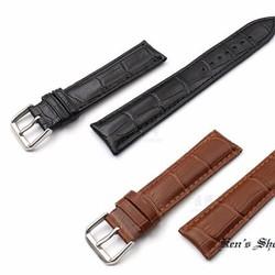 Dây đồng hồ da khóa inox cao cấp tặng kèm chốt và dụng cụ mở chốt