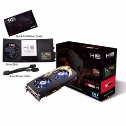 Card màn hình HIS RX 480 IceQ X² Roaring OC 8GB