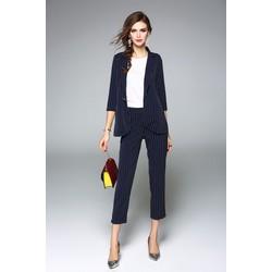 HÀNG CAO CẤP - Sét áo vest + quần - Không kèm áo trong - 17168-H510