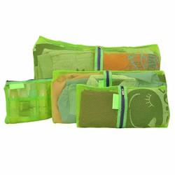 Bộ 4 túi du lịch dạng lưới tiện dụng