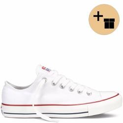 Giày Sneaker Trắng Cổ Thấp - Nữ