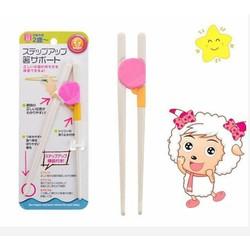 Set 2  đôi đũa tập ăn hàng xuất Nhật cho bé