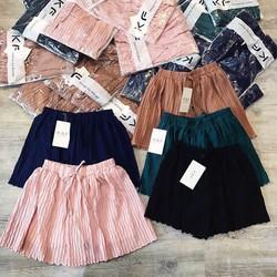 Quần váy dập nhúng QC siêu đẹp