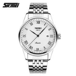 Đồng hồ nam cao cấp chính hãng SKmei 9058 dây kim loại