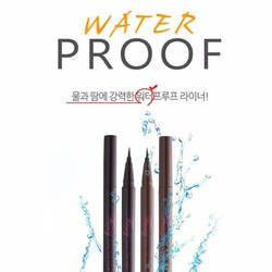 Super Slim Waterproof Pen Liner - Black